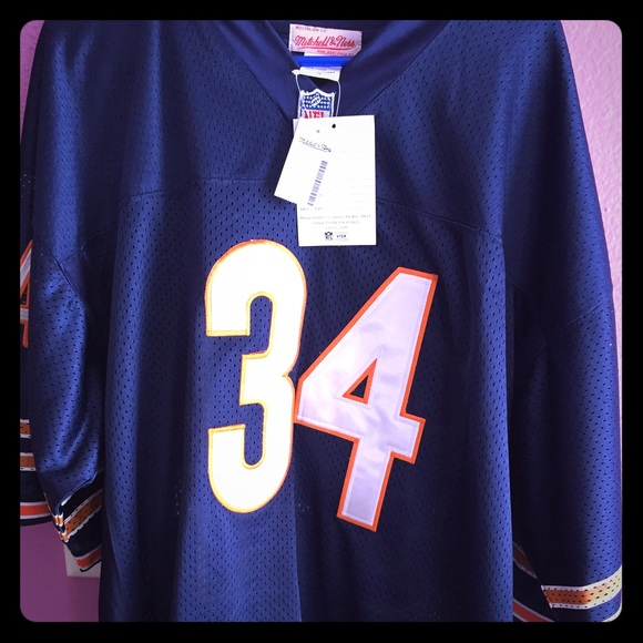 Mitchell   Ness Walter Payton Throwback Jersey 17ba6674e