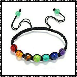 Boutique Chic  Jewelry - Multi-color Chakra beads bracelet