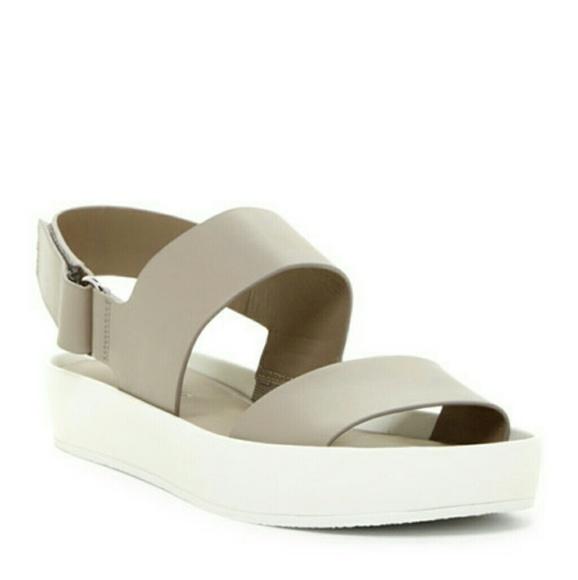 d0d2486715c Vince Marett Two Band Platform Sandals. M 58e7e172d14d7b2dd0000a6f