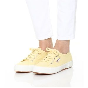 Superga Shoes - Superga in baby yellow color