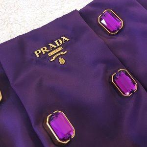 0e65c9823713 Prada Bags   Gem Tessuto Pietre Purple Wristlet Brand New   Poshmark