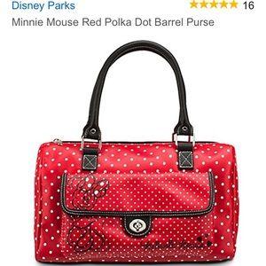 Minnie Mouse Barrel purse