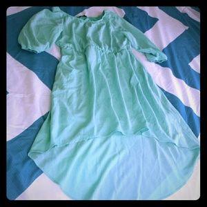 My Michelle Other - GIRLS XL 16 SPRING Mint Green Long Dress!