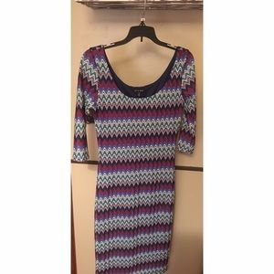 As U Wish Dresses & Skirts - Chevron dress