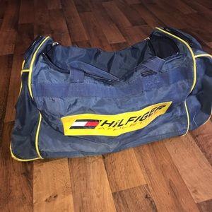 Tommy Hilfiger Other - Vintage Tommy Hilfiger Spell Out Large Duffel Bag