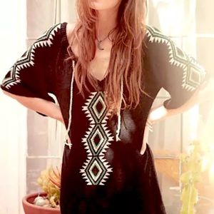 Southern Girl Fashion Sweaters - ETHNIC SWEATER Long Sleeve Patterned Pullover Top