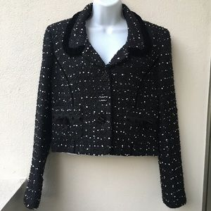 Cynthia Steffe Jackets & Blazers - Cynthia Steffe Bolero Cropped Jacket size L