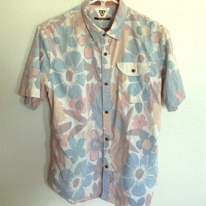 VISSLA Other - Youth xlarge aloha button down shirt