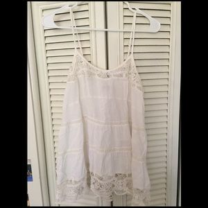 Scully Tops - Scully long white top