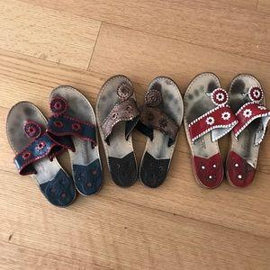 Jack Rogers Shoes - Jack Rogers Bundle!!