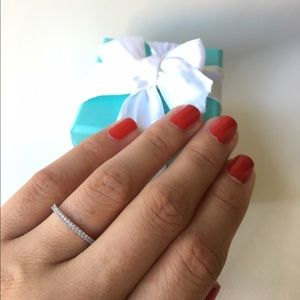 Tiffany & Co. Jewelry - Tiffany diamond eternity band size 4.5