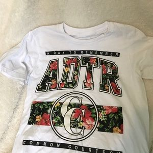 Tops - A Day to Remember band tshirt