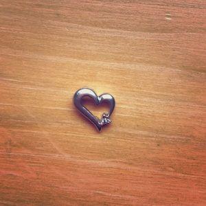 Kay Jewelers Jewelry - Kay Jewelers Heart Shaped Pendant