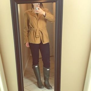 Ann Taylor Jackets & Blazers - Vintage Ann Taylor genuine suede leather jacket