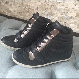 Vince Camuto wedge sneaker