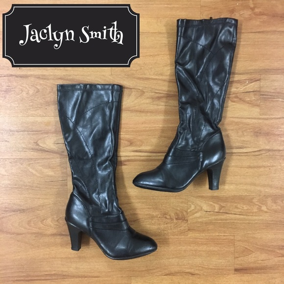 fc7f922066b Jaclyn Smith Heeled Boots
