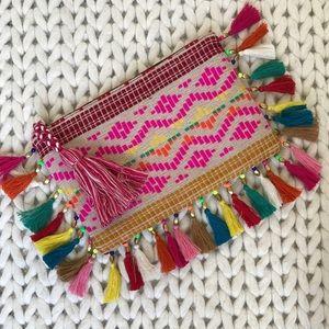 Big Buddha Handbags - Colorful Tassel Pouch