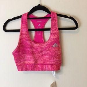 Adidas Other - NWT Adidas Techfit Pink Sports Bra