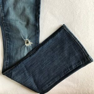 GAP Jeans - GAP limited edition distressed flare jeans.