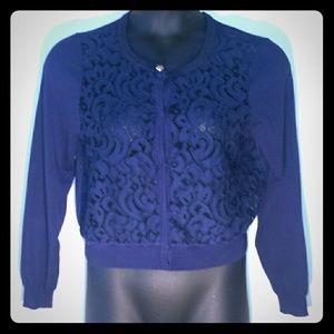 Maison Jules Sweaters - Maison  Jules Blue sweater
