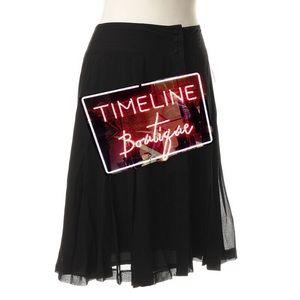 Karl Lagerfeld Dresses & Skirts - 💕 KARL LAGERFELD for h&m silk skirt NEW