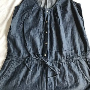 Old Navy Other - Old Navy chambray romper.