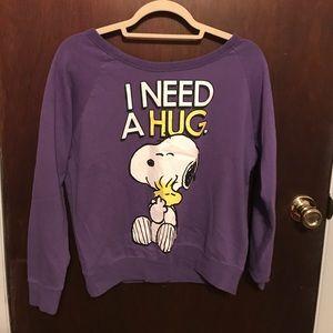 Peanuts Tops - Peanuts Sweatshirt