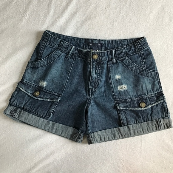GAP Pants - GAP distressed shorts.