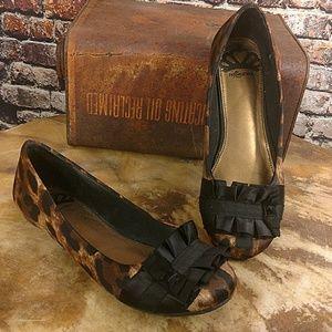 Fergalicious Shoes - NWOT Fergalicious Leopard Flats 6.5