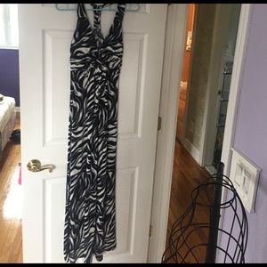 epilogue Dresses & Skirts - Black white and gray maxi dress