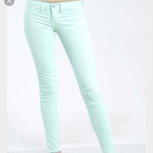 Mint Flying Monkey Skinny Jeans