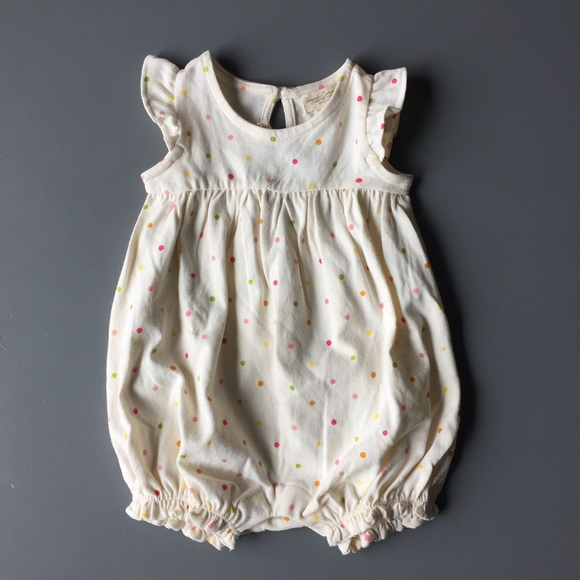 89e526c5158e BabyGap Organic Cotton Bubble Romper
