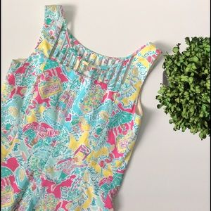 Lilly Pulitzer Dresses & Skirts - LILLY PULITZER In The Beginning Shift Dress