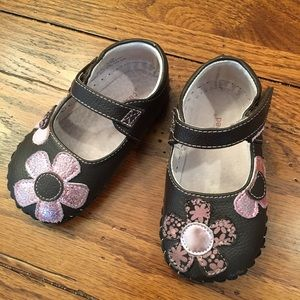 pediped Other - Brown Pediped Mary Janes, Size 18-24 months