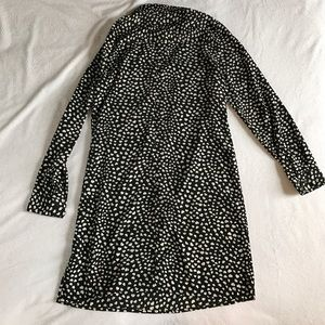 Old Navy Dresses - Old Navy black and white heart dress.