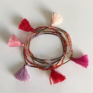 Nordstrom Jewelry - Set of Tassel Bracelets