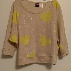 Hard Candy Tops - Hard Candy Lightweight Sweatshirt L