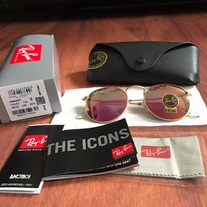 Ray-Ban Accessories - Brand new ray ban rb3447 round sunglasses for sale