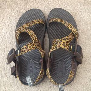 Chacos Shoes - Chaco leopard sandals sz 4 women's 6.5
