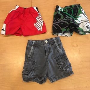 Quiksilver Other - Baby boys Quiksilver board shorts and shorts