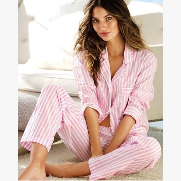 c1d371ee51512 Victoria's Secret after hours satin pajama set