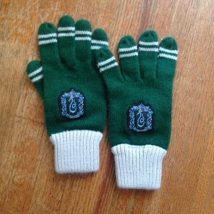 harry potter Accessories - Harry Potter Slitherin gloves