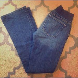 GAP Denim - Gap Sexy Boot Maternity Jeans