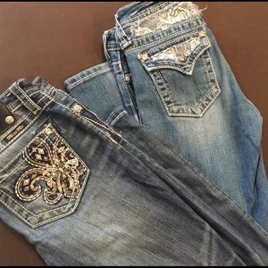 Miss Me Other - Two pairs girls miss me jeans