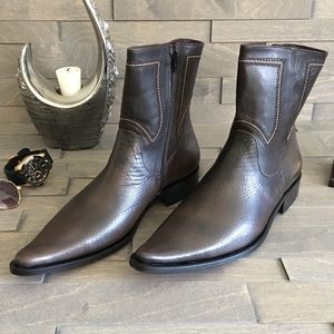 Tigrato Other - Real leather cowboy style men boot