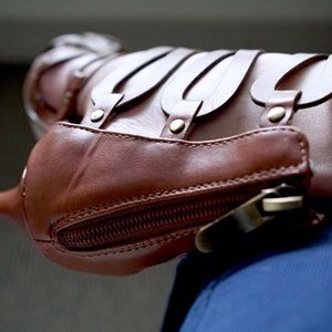 Shoes - 🆕  Paprika®️ Gladiator Heel NWOT