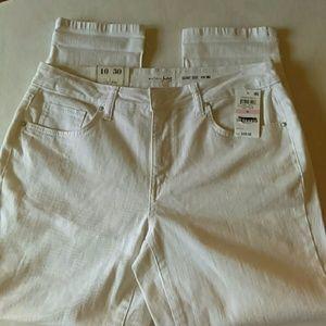 Maison Jules Pants - Maison Jules Skinny Crop Pants