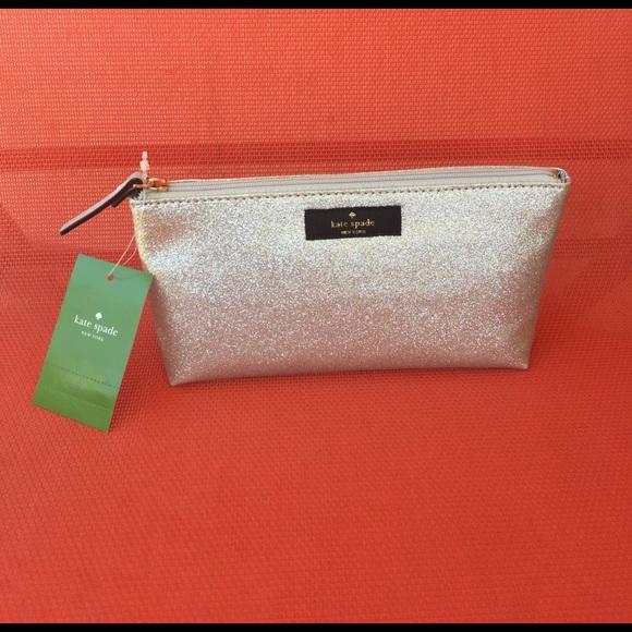 brand new 29b7c 04111 Kate Spade Little Shiloh cosmetic bag NWT NWT
