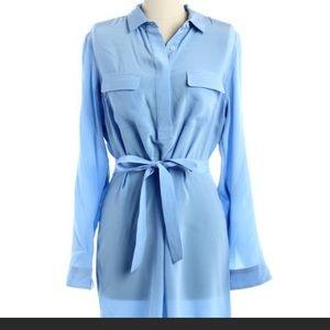 J. McLaughlin Dresses & Skirts - New J. McLaughlin 100% silk shirt dress size M
