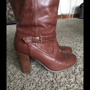 Audrey Brooke Shoes - 🔆AUDREY BROOKE Knee High Leather Boots Size 7.5🔆